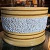 Large Mocha Ware Cache Pot