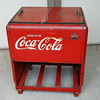 Nice Old Large Store Coca Cola Cooler