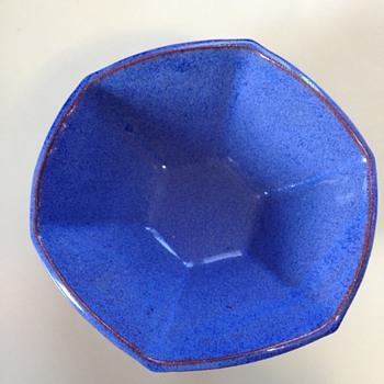 Bright Blue awesome bowl - Pottery
