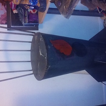 Vintage 500 pound Bombshell Barstool