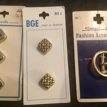Vintage Buttons 4 - Sewing