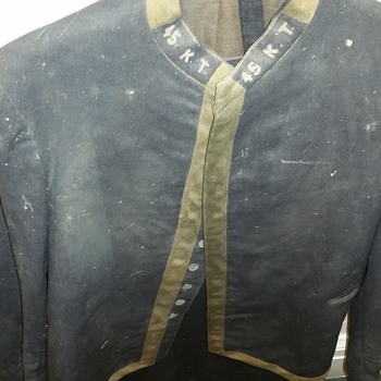 1945 fashion dress and army jacket