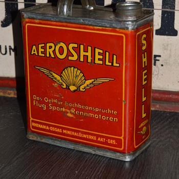 aeroshell german can - Advertising