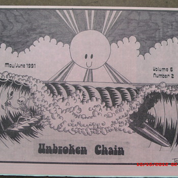 From my Grateful Dead Collection Unbroken Chain Vol.6 No.2 May-June 1991