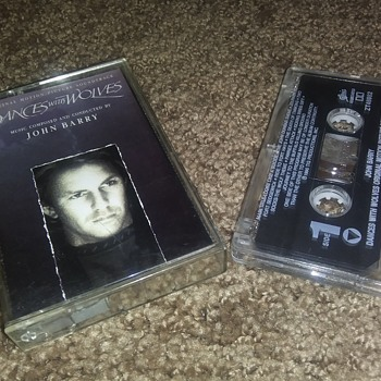 """Dances With Wolves"" Soundtrack On Cassette Tape Format. - Records"
