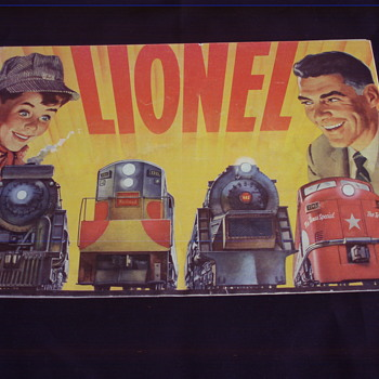 LIONEL TRAINS 1954 CATALOG
