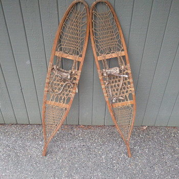 1941 snowshoes - Sporting Goods