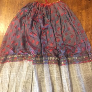 Antique Ethnic Skirt But From Where?