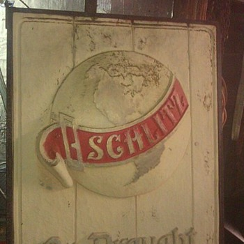 SCHILTZ OUTSIDE BAR SIGN - Signs