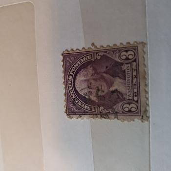 3 cent washington nited's states postage -dark violet/purple - Stamps