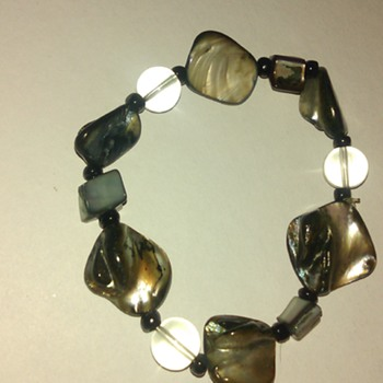 Mother of pearl or ?? - Costume Jewelry