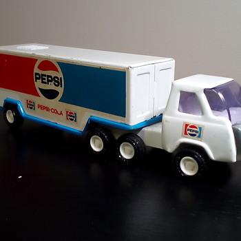 Buddy L Pepsi Trucks - Advertising
