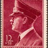 1942 - Germany - Adolf Hitler Birthday Stamp and Postmark
