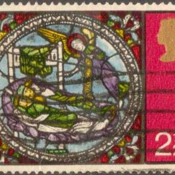 "1971 - Britain ""Christmas"" Postage Stamps - Stamps"