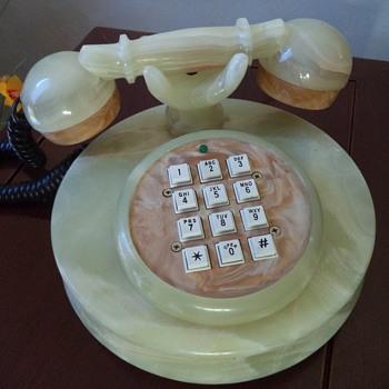 Onyx Marble Telephone - Telephones