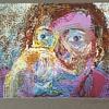 1987 Signed Framed Portrait Digital Painting