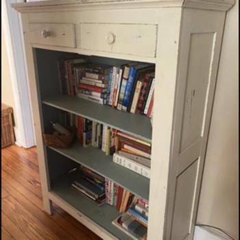 Antique folding cabinet.  - Furniture