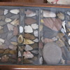 Native American stone arrowheads & tools