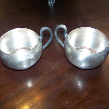 Creamer set ? - Silver