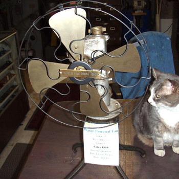 Water Powered Fan (Circa 1890)
