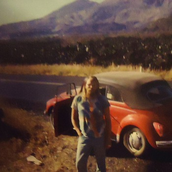 1972 Super Beetle Convertible! 6 months in Mexico, with tent and of course fishing poles!! - Classic Cars