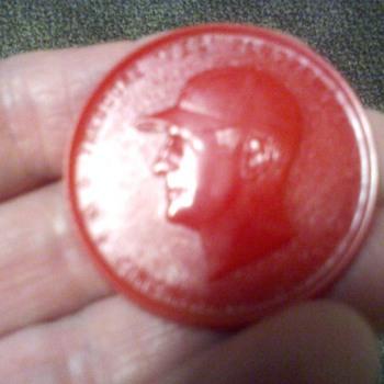 1954 Ted Kluszewski disc.  - Baseball