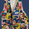 1970's Deadstock Nicky Zann Comic Book Pop Art Vest