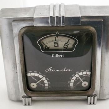 Gilbert Airmeter Clock - Clocks