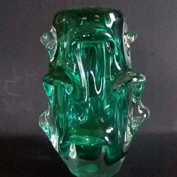 Skrdlovice/Aseda (?) pulled vase - Art Glass