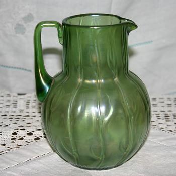 Loetz Creta Neptun Jug - Art Glass