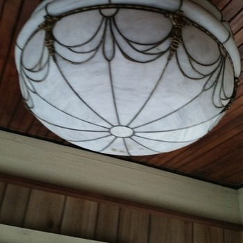 Stain glass fixture