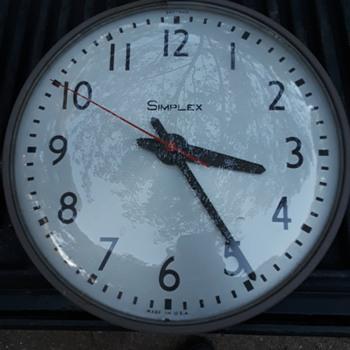 SIMPLEX 'slave clock'  - Clocks