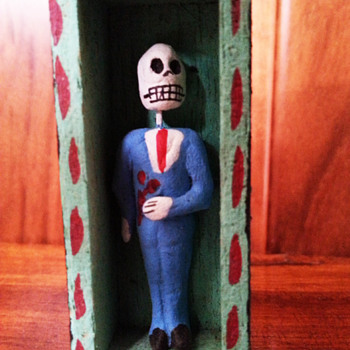 Mexican calavera - Folk Art
