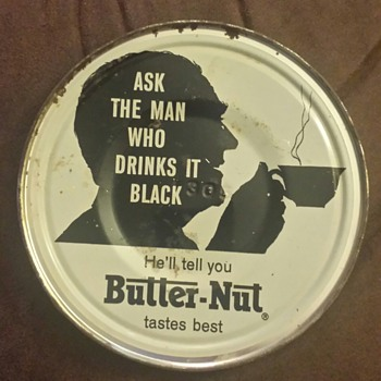 Butter-Nut Coffee Tin Lid