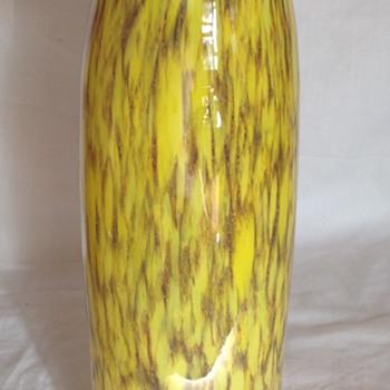 Welz wavy rimmed vase - Art Glass