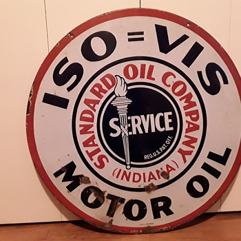 My favorite  sign from our Standard Oil collection - Petroliana