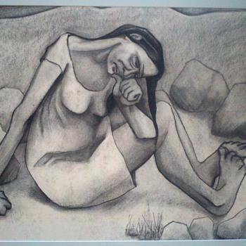 Unknown Charcoal - Fine Art