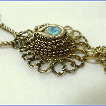 Vintage - Silver Twisted Necklace & Bracelet  - ( Hand Crafted ?? ) - Fine Jewelry