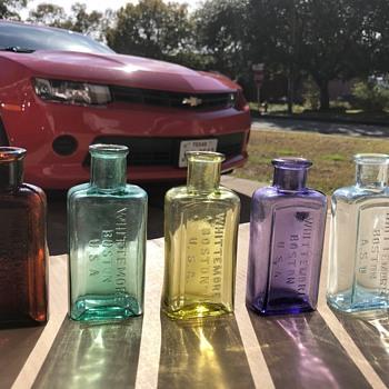 Whittemore shoe polish  - Bottles