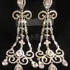 Chandelier earrings -- bling bling! :)