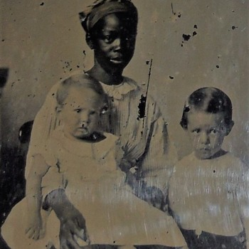 African American Nanny ambrotype - Photographs