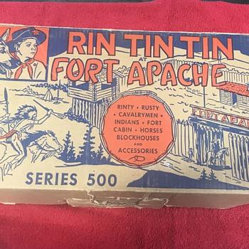 Rin Tin Tin Fort Apache Marx's 1956  - Toys