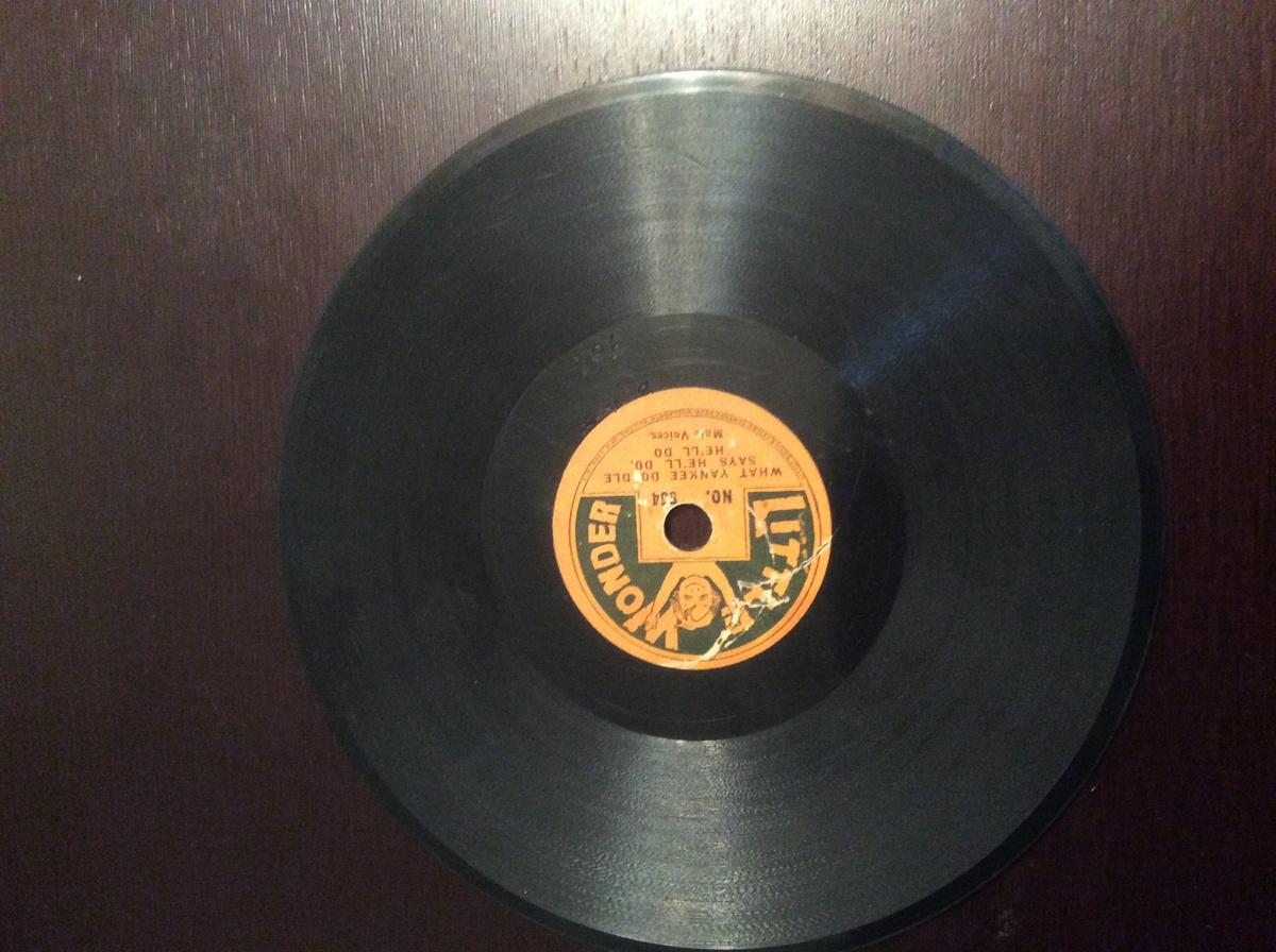 Rare Vintage Vinyl Record Little Wonder 1915 1923