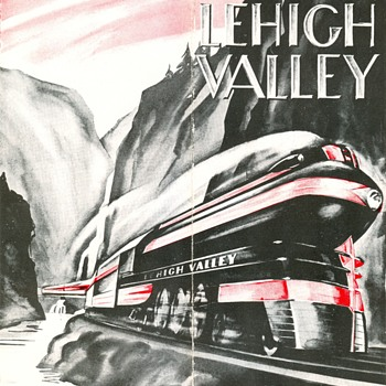 Lehigh Valley John Wilkes - Railroadiana