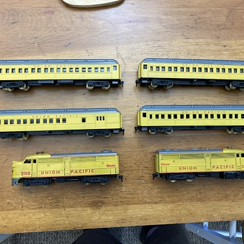 """1954 HObbyline train set #455 the """"Canyon Clipper"""" - Model Trains"""