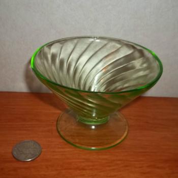 Uranium & Depression Glassware - Glassware