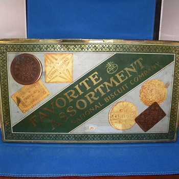 NATIONAL BISCUIT TIN