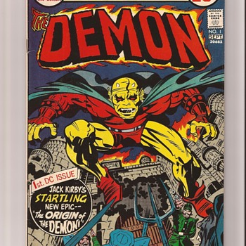 The Demon Etrigan - Comic Books