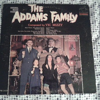 Addams Family original LP 1965  Mono