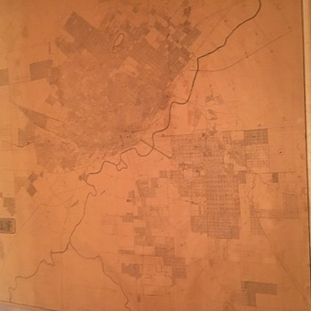 Murphy and Bolanz Official Map of the City of Dallas January 1911 - Paper